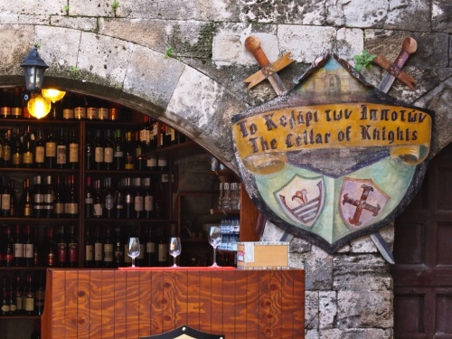 Wine Shop in Rhodes