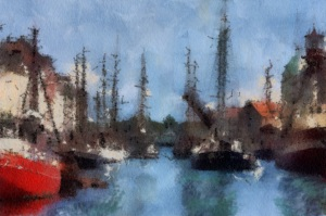 Copenhagen Harbour — Paul Cézanne
