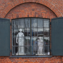 Statues In The Window