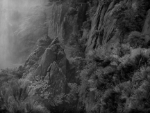 Yellow Mountain in Black and White - 06