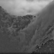 Yellow Mountain in Black and White - 22