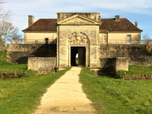 The main gatehouse