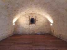 Interior of the powder house