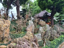 Rocks and Hut