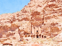 There are four Royal Tombs in Petra, so called fro the magnificence of their carving rather than being a burial place for Nabataean kings and queens