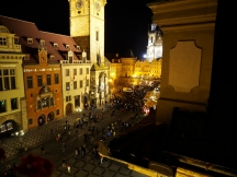 Astronomical clock from Hotel U Prince