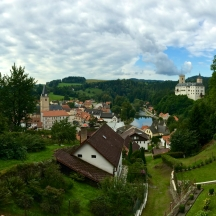 Rozmberk Castle and Village