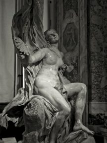 Executed between 1646 and 1652, Bernini intended to show Truth allegorically as a naked young woman being unveiled by a figure of Time above her, but the figure of Time was never executed. Bernini still expressed a wish to add the figure as late as 1665.
