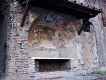 Capitoline Insula, Fresco San Biagio del Marcato