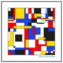 A la Mondrian