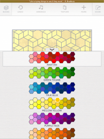 More palettes