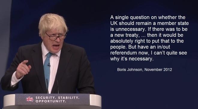 Boris Johnson debate 1